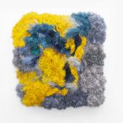 Galia Gluckman | Soirée Series (Leroy) | 2020 | Construction with Paper, Acrylic, Bonding Tape on Board | 150 x 145 x 30 cm