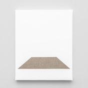 Pierre Vermeulen | Gesso Space nr 6 | 2020 | Gesso on Belgian Linen | 50 x 40 cm